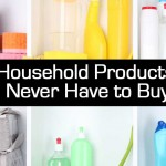 12 Household Products Should Never Have to Buy Again!