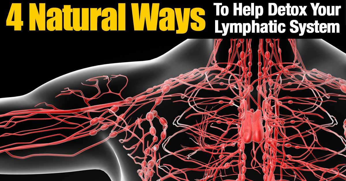 4 Natural Ways To Help Detox Your Lymphatic System