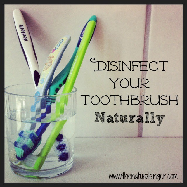 how to naturally disinfect your toothbrush. Black Bedroom Furniture Sets. Home Design Ideas