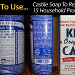 15 Household Products Replaced With Eco Friendly Castile Soap