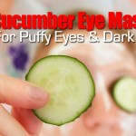 Make Cucumber Eye Mask Pads Relief For Puffy Eyes & Dark Circles