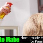 How to Make Homemade Hairspray for Pennies