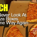 WATCH: You'll Never Look At Pizza Boxes The Same Way Again